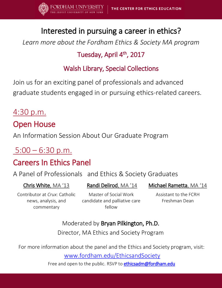 careers-in-ethics-panel-and-open-house-3-27-2017